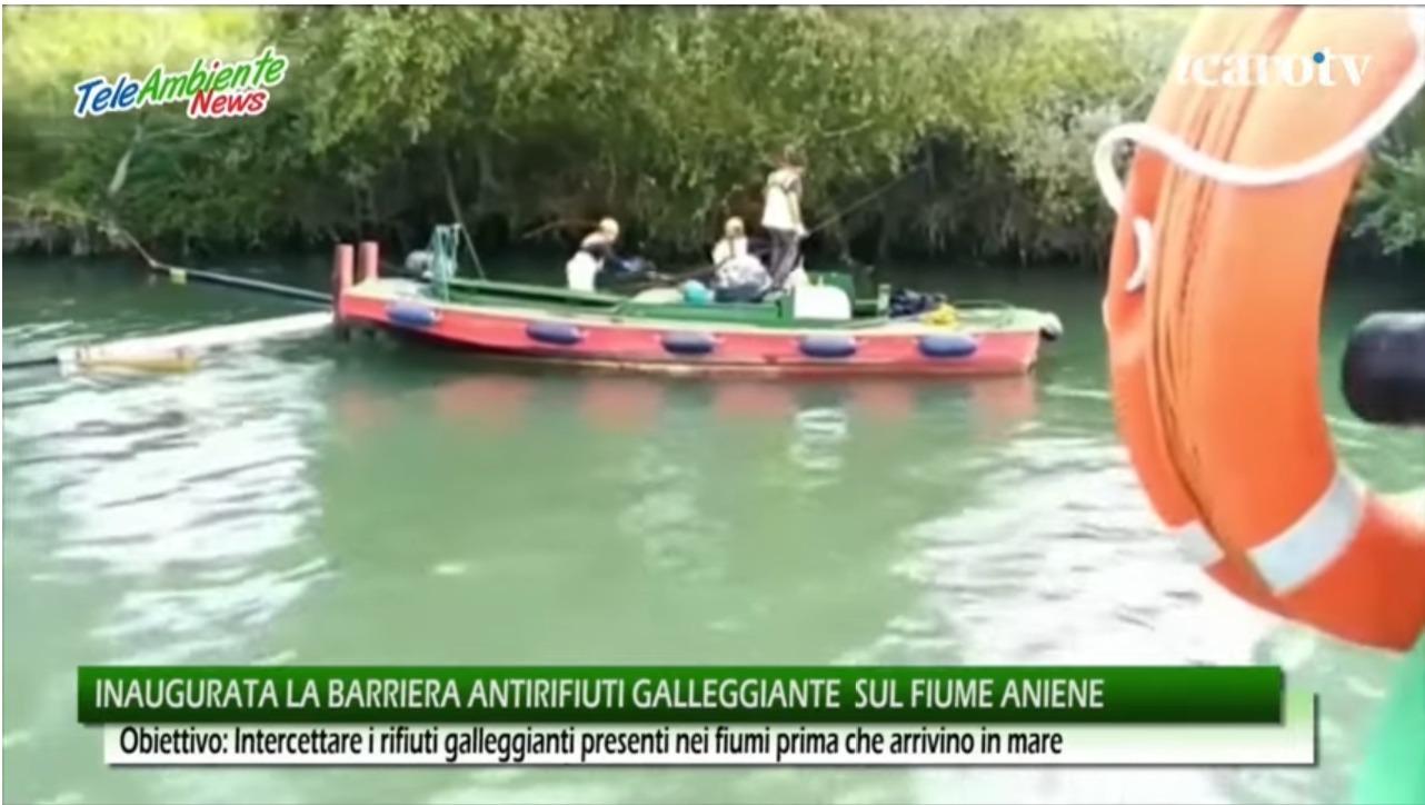 Il progetto di Petroltecnica per il recupero di rifiuti sui fiumi