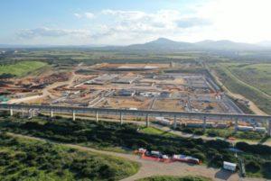 L'area del progetto Nuraghe a Porto Torres (SS)